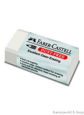 FABER-CASTELL 30 DUST-FREE ERASERS 1871-30