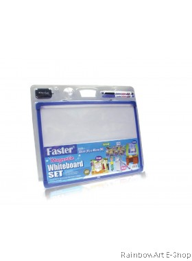 FASTER MAGNETIC WHITE BOARD SET