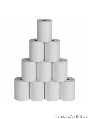80mm x 58mm Thermal Receipt Paper Roll 1 Pack / 5 Roll