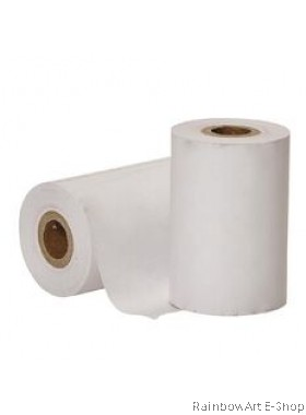 57mm x 38mm Thermal Paper Roll For Credit Card Machine 1 Pack / 5 Roll