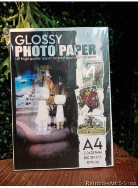 HP Premium Plus A4 Glossy Photo Paper 180gsm 100 sheets