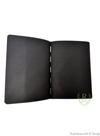 arto by CAMPAP A3 Sketch Book 140gsm Black Drawing Paper