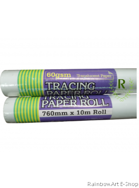 arto by CAMPAP Tracing Paper Roll 760mm x 10 meter 1Roll