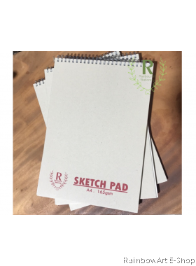 A4 Wire Ring Sketch Book 165gsm