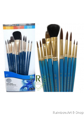 Daler Rowney Simply Natural And Synthetic Brush Set