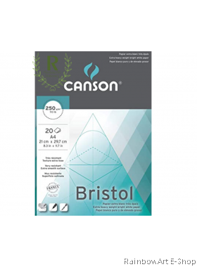 Canson Bristol Pad 250gsm A4 size