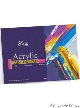 arto by CAMPAP A4 ACRYLIC PAINTING PAD