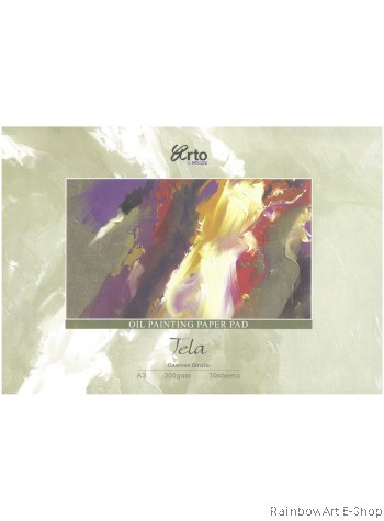 arto by CAMPAP A3 OIL PAINTING PAPER PAD
