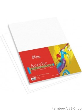 arto by CAMPAP A3 ACRYLIC PAINTING PAPER CR36355